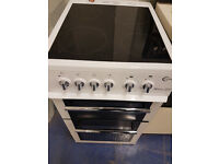 white flavel milano 50cm ceramic cooker perfect working order