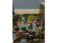 16 Skylanders Figures PS4