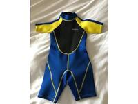 Junior shorty wetsuit - brand new with tags