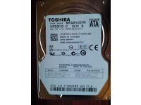 "2.5"" 320gb laptop hard drives various models Western Digital seagate HGST toshiba"