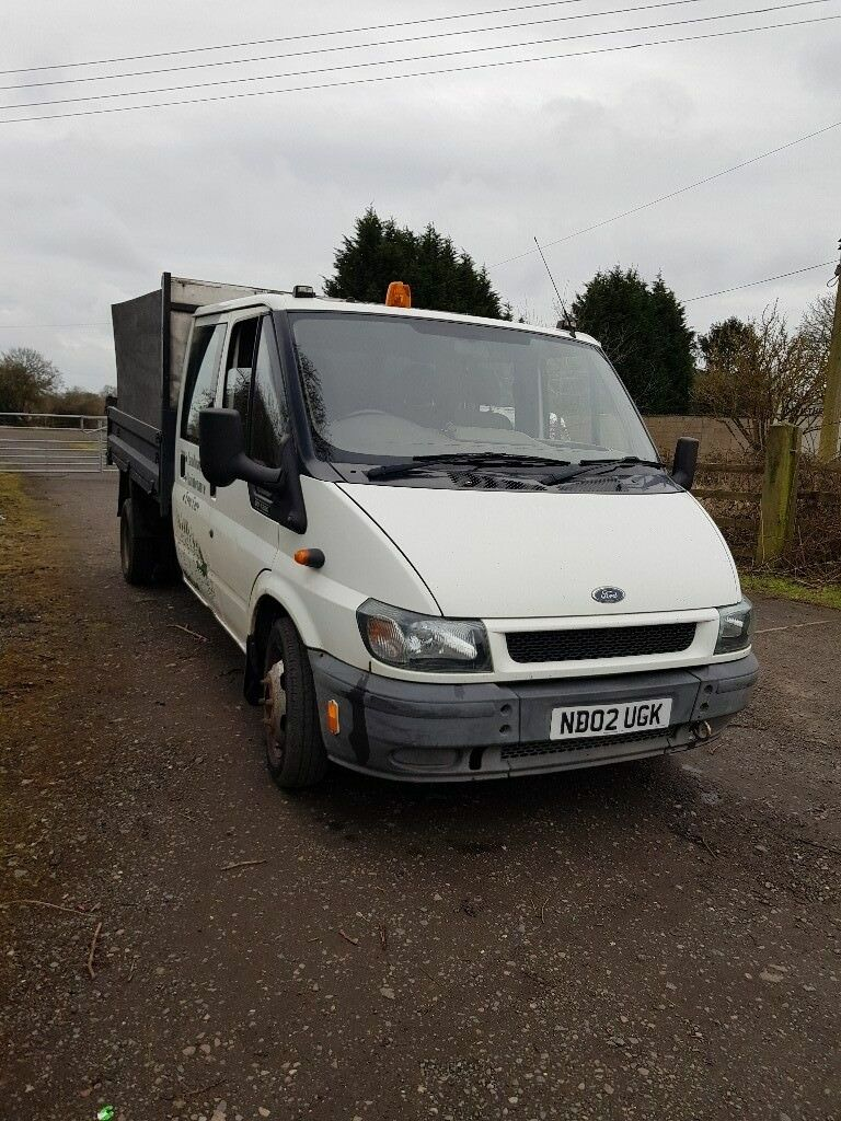 b7b4eb9fbedca3 Ford transit double cab tipper