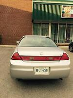2002 Honda Accord EXL Coupe with leather seats
