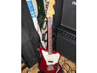 Fender Jaguar electric guitar - Pawn Shop Series Jaguarillo - Candy Apple Red