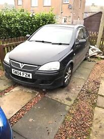 1.4 Vauxhall Corsa Exclusive (full leathers)
