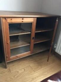 Ikea Solid Pine Side Cabinet