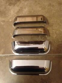 4 x solid polished chrome handles brand new all for a £5 bargain.