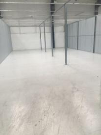 500 Sq for industrial storage warehouse space