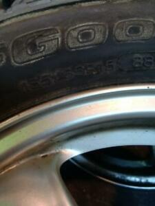 185/65 R15 2 Mini Cooper mags with almost new winter tires