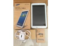 Samsung Galaxy Tab 3 SM-T210 8GB, WiFi, 7in - White, with original box