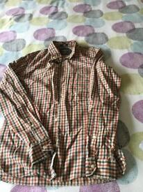 H&M checked shirt, size Small, VGC