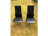 Dining chairs 2 of.