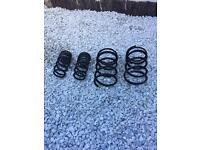 Honda Civic type r ep3 standard front and rear suspension springs