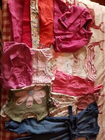 Big bundle of girls clothes 2 - 3 years old