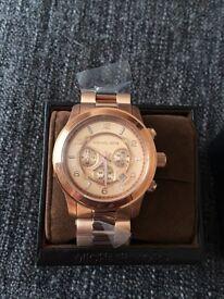 Genuine new Michael Kors oversized watch