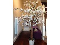 5ft artificial blossom trees. North east hire £40