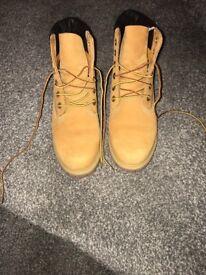 Women's Timberland 6-inch Premium boot Size 6
