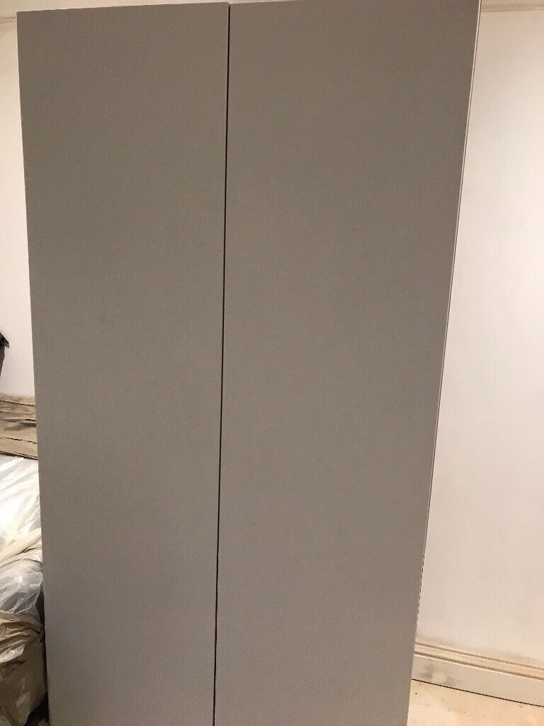 9d292142c73e John lewis Grey Double Wardrobe | in Wimbledon, London | Gumtree