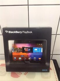 Blackberry playbook wifi 64gb boxed with 2 working blackberry curve 8520s