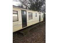 STATIC CARAVANS FOR SALE X2. MATCHING PAIR ATLAS NEVADA 28X10 FEET IDEAL HOUSE BUILDER ETC