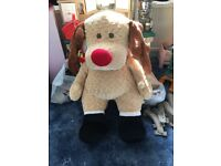 Rudolph large soft toy