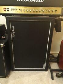 "Harley Benton 2x12"" Guitar Cabinet w/ Celestion Vintage 30 Speakers"