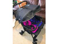 Never Been Used!! Joie Aire Twin Stroller – Pink/Blue