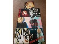 """Kim Wilde 7"""" Vinyls"""
