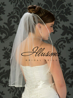 Illusions Bridal Veils One Layer 25