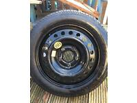 Vauxhall insignia space saver wheel&Tyre