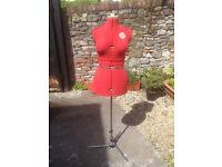 Ladies Adjustable Dressmakers Tailors Dummy Supafit Mannequin MEDIUM