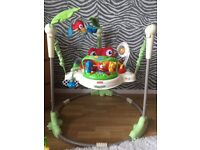 Fisher Price Rainforest Jumperoo/ Baby Bouncer for sale
