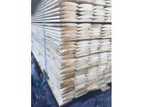 Log cladding