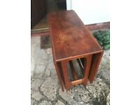 Old quality gateleg table