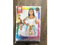 Deluxe cleopatra girl costume age 7-9