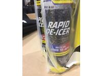DE-ICER, 600ml. Solving frosted windows problem