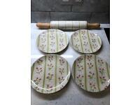 Waitrose pasta hand rolling pin ceramic