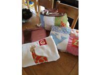 Boys cot nursery set