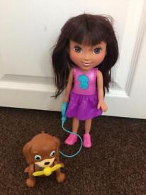 Talking Dora doll