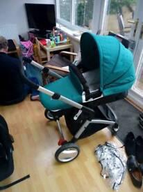 Mother care roam travel system