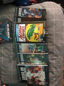 Job lot dc graphic novel collection/ marvel graphic novel collection