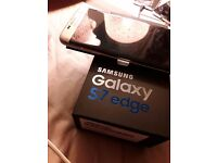 Brand New S7 Samsung Edge Galaxy .Unlocked to all networks.
