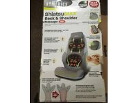 SOLDShiatsuMAX Back and Shoulder Massager with heat