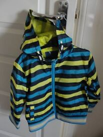Boys lightweight shower proof jacket unworn - Age 3