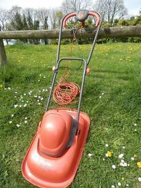 Flymo 330 Turbo Lite electric mower - very good condition