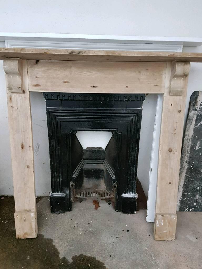 old cast iron fireplace art deco in newton abbot devon gumtree