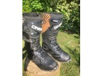 Oneal rider motocross/ enduro boots size 8