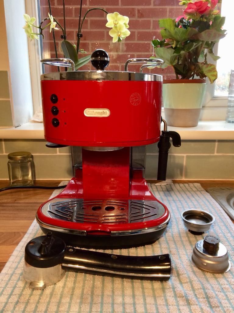 Delonghi Icona Coffee Machine Red Rrp Over 150 In Wymondham Norfolk Gumtree