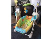 Fisher Price Musical Baby Swing Rocker