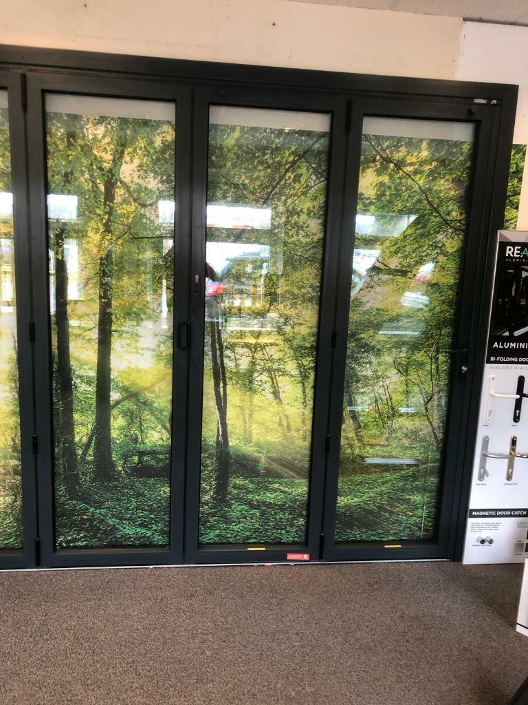 BRAND NEW ANTHRACITE GREY ALUMINIUM BIFOLD DOOR | in Woodley, Berkshire |  Gumtree