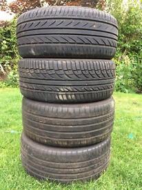 4 tyres 1 new 3 good